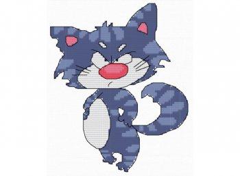 Кот забияка